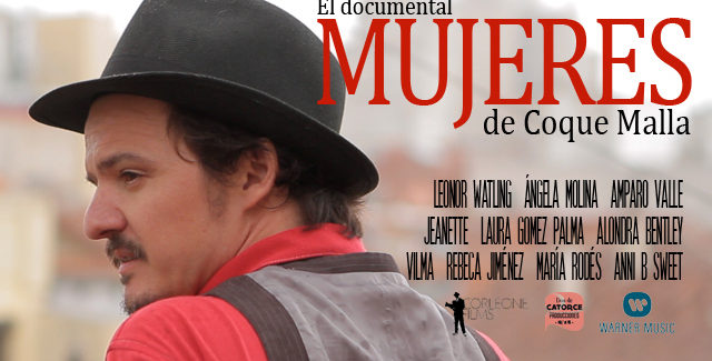 "Coque Malla en cines: ""Mujeres, el documental"""