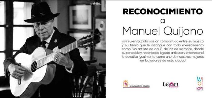 León homenajea al padre de los Café Quijano