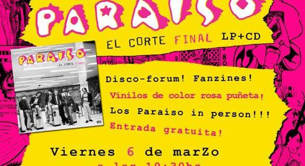 Paraíso publica 40 años después su álbum inédito