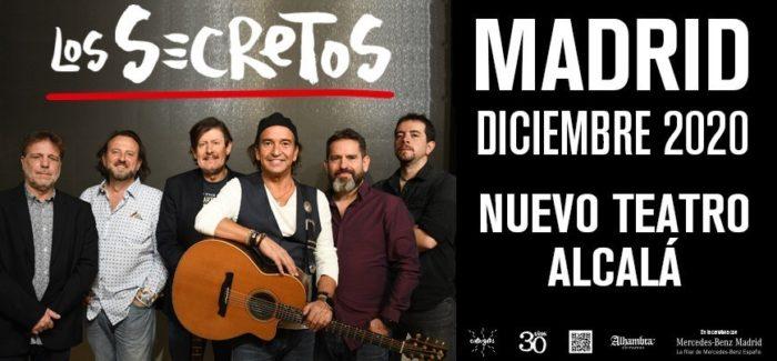 Los Secretos actuarán en Madrid esta Navidad