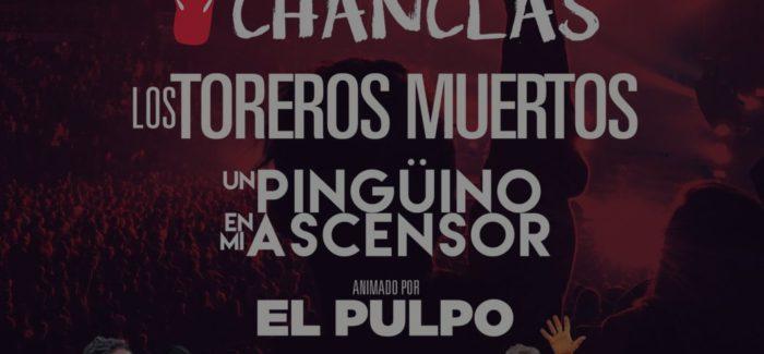 Desvelado el cartel de julio del XI Festival Locos por la Raqueta