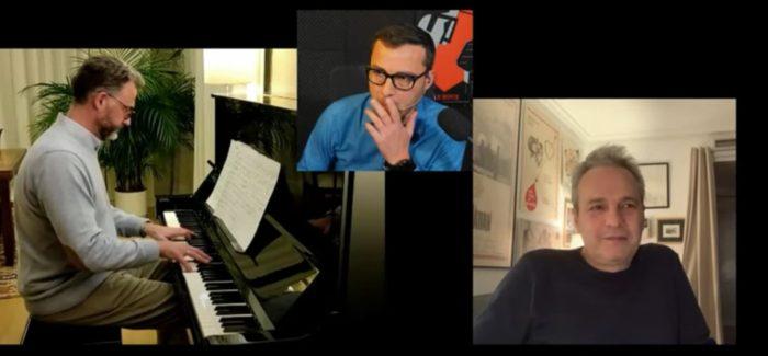Pablo Fuente canta «Temblando» en directo a David Summers